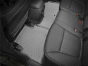 Kia Sorento 2014-2015 - Коврики резиновые с бортиком, задние, серые (WeatherTech) фото, цена