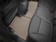 Kia Sorento 2014-2015 - Коврики резиновые с бортиком, задние, бежевые (WeatherTech) фото, цена