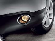 Nissan Qashqai 2007-2013 - Хромированные накладки на передние противотуманные фары (Wellstar) фото, цена