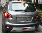 Nissan Qashqai 2007-2013 - Хромированные накладки на задние противотуманные фары (Wellstar) фото, цена