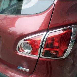 Nissan Qashqai 2007-2013 - Хромированные накладки на задние фонари (Wellstar) фото, цена