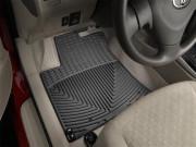 Pontiac Vibe 2008-2010 - Коврики резиновые, передние, черные (WeatherTech) фото, цена