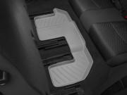 Fiat  Freemont 2011-2015 - Коврики резиновые с бортиком, задние, 3 ряд сидений, серые. (Weathertech) фото, цена