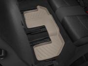 Fiat  Freemont 2011-2015 - Коврики резиновые с бортиком, задние, 3 ряд сидений, бежевые. (Weathertech) фото, цена