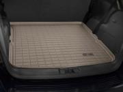 Fiat  Freemont 2011-2015 - Коврик резиновый в багажник, бежевый. (WeatherTech) фото, цена