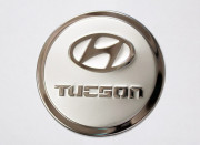 Hyundai Tucson 2004-2008 - Хромированная накладка на лючок бензобака.(CAFO)  фото, цена