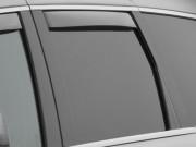 Jeep Grand Cherokee 2011-2016 - Дефлекторы окон (ветровики), задние, светлые. (WeatherTech) фото, цена