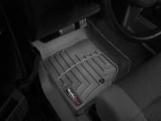 Jeep Wrangler 2007-2013 - Коврики резиновые с бортиком, передние, черные (WeatherTech) фото, цена