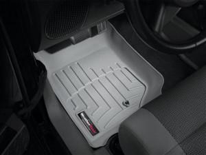 Jeep Wrangler 2007-2013 - Коврики резиновые с бортиком, передние, серые (WeatherTech) фото, цена