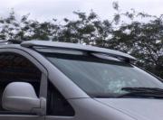 Mercedes-Benz Vito/Viano 2004-2010 - Козырек на лобовое стекло (под покраску) фото, цена