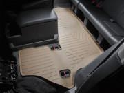 Nissan Armada 2004-2015 -  Коврики резиновые с бортиком, задние, 3 ряд, бежевые (WeatherTech) фото, цена