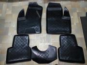 Fiat Doblo 2000-2009 - Коврики резиновые, черные, комплект 5 штук, Eleron фото, цена