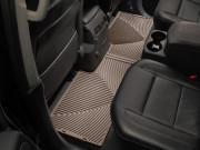 Nissan Armada 2009-2015 - Коврики резиновые, задние, бежевые (WeatherTech) фото, цена