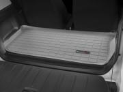 Smart fortwo 2007-2015 - Коврик резиновый в багажник, серый (WeatherTech) фото, цена
