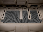 Infiniti QX60 2013-2016 - Коврики резиновые, задние, 3 ряд, черные (WeatherTech) фото, цена