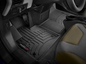 BMW i3 2014-2020 - Коврики резиновые с бортиком, передние, черные. (WeatherTech) фото, цена