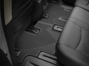 Infiniti JX35 2012-2013 - Коврики резиновые, задние, 2 ряд, черные (WeatherTech) фото, цена