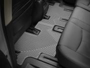 Infiniti JX35 2012-2013 - Коврики резиновые, задние, 2 ряд, серые (WeatherTech) фото, цена