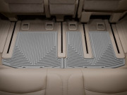 Infiniti JX35 2012-2013 - Коврики резиновые, задние, 3 ряд, серые (WeatherTech) фото, цена