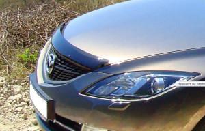 Mazda 6 2008-2012 - Дефлектор капота (мухобойка), EGR фото, цена
