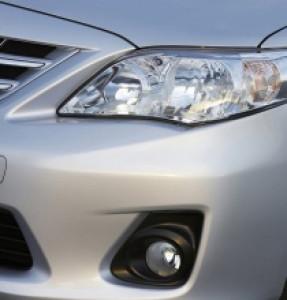 Toyota Corolla 2007-2010 - Защита фар (прозрачная) фото, цена
