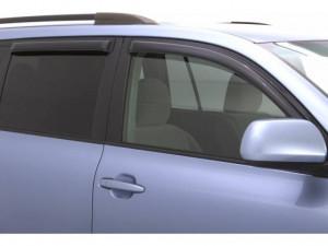Toyota Highlander 2008-2013 - Дефлекторы окон, темные. к-т 4 шт. (AVS) фото, цена
