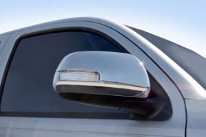 Toyota Highlander 2008-2013 - Хромированные накладки на зеркала с поворотниками (SAA) фото, цена
