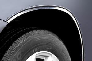 Toyota Highlander 2008-2013 - Хромированные накладки на арки  к-т 6 шт. (SAA) фото, цена