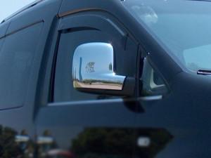 Volkswagen Caddy 2010-2015 - Хромированные накладки на зеркала, к-т 2 шт. (OMSA) фото, цена