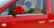Volkswagen Caddy 2010-2015 - Хромированная накладка на стекло, нижняя, к-т 4 шт  (OMSA)  фото, цена