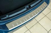 Volkswagen Caddy 2010-2015 - Хромированная накладка на задний бампер (OMSA) фото, цена