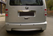 Volkswagen Caddy 2010-2015 - Накладка заднего бампера. (OMSA) фото, цена