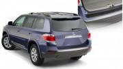 Toyota Highlander 2008-2013 - Накладка заднего бампера (Bushwacker) фото, цена