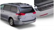 Toyota Sienna 2010-2015 - Накладка заднего бампера (Bushwacker) фото, цена