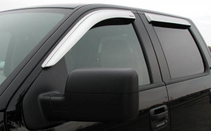 Toyota Camry 2006-2011 - Дефлекторы окон хромированные, к-т 4 шт.(STAMPEDE) клеющиеся фото, цена