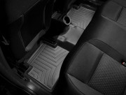 Alfa Romeo Giulietta 2011-2016 - Коврики резиновые с бортиком, задние, черные (WeatherTech) фото, цена
