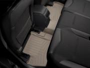Citroen C4 2014-2016 - Коврики резиновые с бортиком, задние, бежевые (WeatherTech) фото, цена