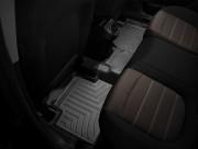 Fiat Bravo 2010-2015 - Коврики резиновые с бортиком, задние, черные (WeatherTech) фото, цена
