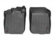Dacia Duster 2010-2015 - Коврики резиновые с бортиком, передние, черные (WeatherTech) фото, цена