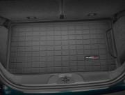 Fiat 500 2011-2012 - Коврик резиновый в багажник, черный (WeatherTech) фото, цена