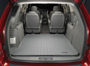 Fiat 500 2011-2012 - Коврик резиновый в багажник, серый (WeatherTech) фото, цена