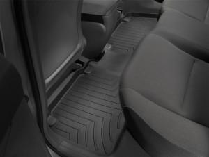 Honda Civic 2006-2011 - Коврики резиновые с бортиком, задние, черные (WeatherTech) фото, цена