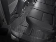 Honda Ridgeline 2006-2012 - Коврики резиновые с бортиком, задние, 2-3 ряд, черные (WeatherTech) фото, цена
