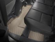 Honda Ridgeline 2006-2012 - Коврики резиновые с бортиком, задние, 2-3 ряд, бежевые (WeatherTech) фото, цена
