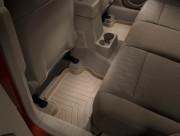 Jeep Patriot 2007-2010 - Коврики резиновые с бортиком, задние, бежевые (WeatherTech) фото, цена