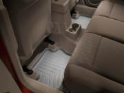Jeep Patriot 2007-2016 - Коврики резиновые с бортиком, задние, серые (WeatherTech) фото, цена