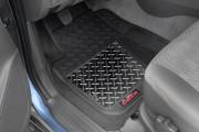Коврики резиновые с алюминиевой вставкой, передние 2шт. (Dee Zee) фото, цена