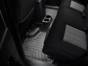 Jeep Liberty 2008-2013 - Коврики резиновые с бортиком, задние, черные (WeatherTech) фото, цена