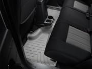 Jeep Liberty 2008-2013 - Коврики резиновые с бортиком, задние, серые (WeatherTech) фото, цена