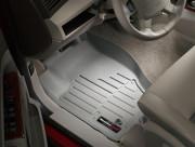 Jeep Grand Cherokee 2005-2010 - Коврики резиновые с бортиком, передние, серые (WeatherTech) фото, цена